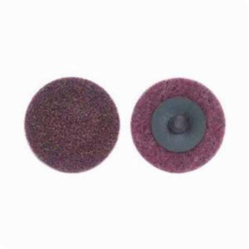 Norton® Bear-Tex® Speed-Lok® 66261009190 Non-Woven Abrasive Quick-Change Disc, 2 in Dia, 120 Grit, Medium Grade, Aluminum Oxide Abrasive, Type TR (Type III) Attachment
