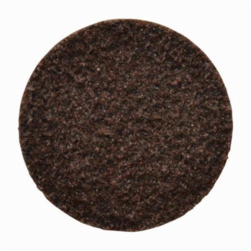 Norton® 66261014793 High Strength Non-Woven Abrasive Quick-Change Disc, 3 in Dia, 80 Grit, Medium Grade, Aluminum Oxide Abrasive, Type TR (Type III) Attachment