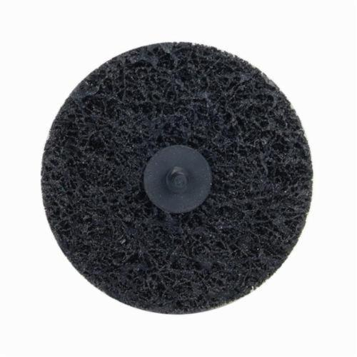 Norton® Rapid Strip™ 66261016580 Non-Woven Abrasive Quick-Change Disc, 4 in Dia, Extra Coarse Grade, Silicon Carbide Abrasive, Type TR (Type III) Attachment