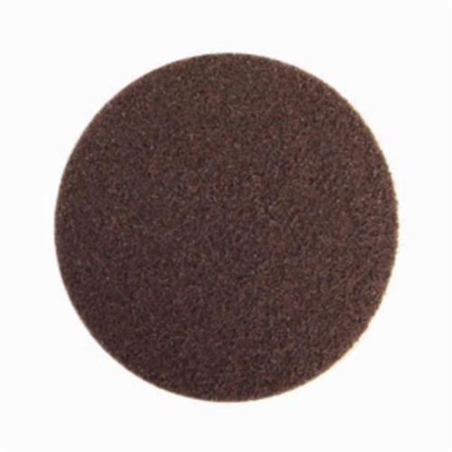 Norton® Bear-Tex® Rapid Prep™ 66261055027 Non-Woven Abrasive Hook and Loop Disc, 7 in Dia, 80 Grit, Coarse Grade, Aluminum Oxide Abrasive, Nylon Backing