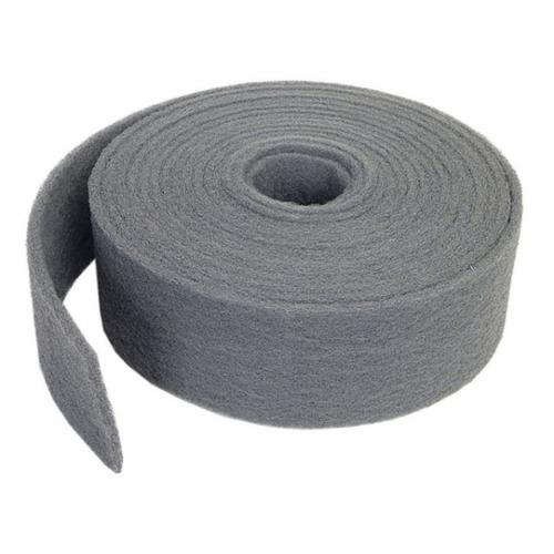 Norton® 66261058357 Clean and Finish Roll, 4 in W x 30 ft L, 400 to 600 Grit, Ultra Fine Grade, Silicon Carbide Abrasive