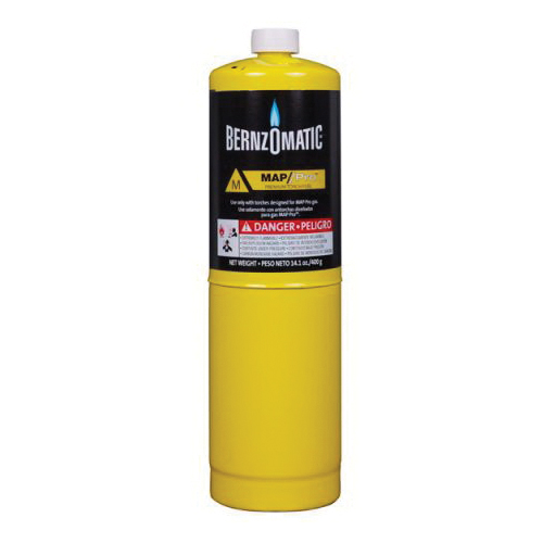 BernzOmatic® 332477 Cylinder, For Use With Standard Hand Torch, MAP-Pro™ Gas