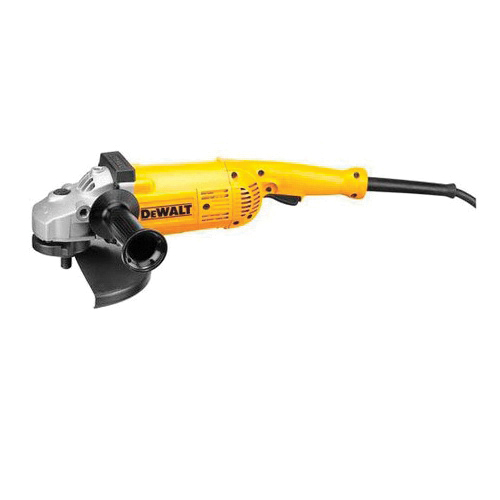 DeWALT® D28499X Large Angle Grinder, 7 in, 9 in Wheel, 5/8 in, 5.3 hp, 120 VAC, Yellow, Tool Only
