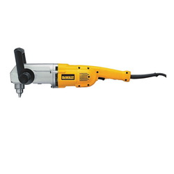 DeWALT® DW124K Corded Reversible Stud and Joist Drill, 1/2 in Keyed Chuck, 120 VAC, 300/1200 rpm Speed, 21 in OAL