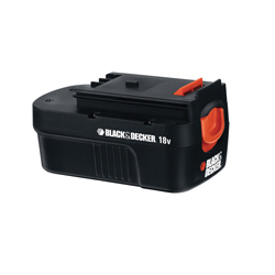 Black+Decker® HPB18 Rechargeable Slide Spring Loaded Cordless Battery Pack, 1.5 Ah Ni-Cd Battery, 18 VDC Charge, For Use With Spring Loaded Battery Style FireStorm® and Black+Decker® 18 V Product, Tool Only