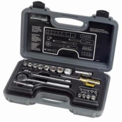 Blackhawk™ by Proto® 1323ANB Socket Set, Imperial, 1/4 in, 3/8 in Drive, Round Head, 23 Pieces
