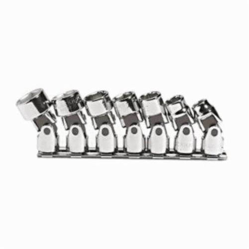 Stanley® 208-CNB Universal Socket Set, Imperial, 7 Pieces, Full Polished