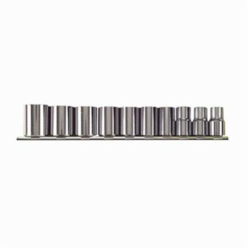 Stanley® 210-B Socket Set, Imperial, 10 Pieces, Full Polished