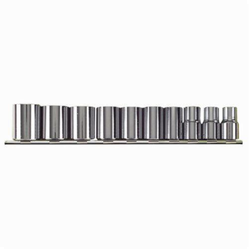 Stanley® 310-MNB Socket Set, Metric, 10 Pieces, Full Polished
