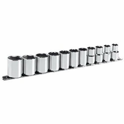 Stanley® 314-B Socket Set, Imperial, 11 Pieces, Full Polished