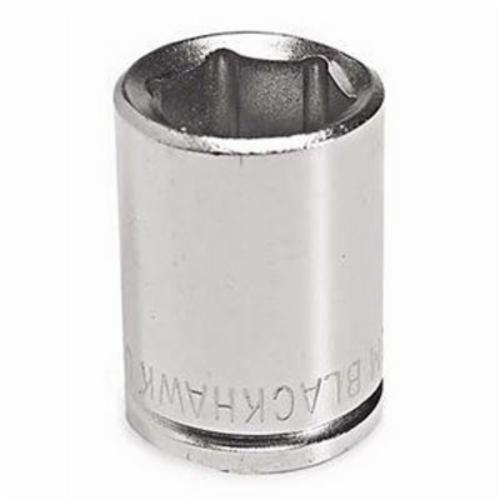Stanley® 32019M Standard Length Socket, Metric, 3/8 in Square Drive, 19 mm