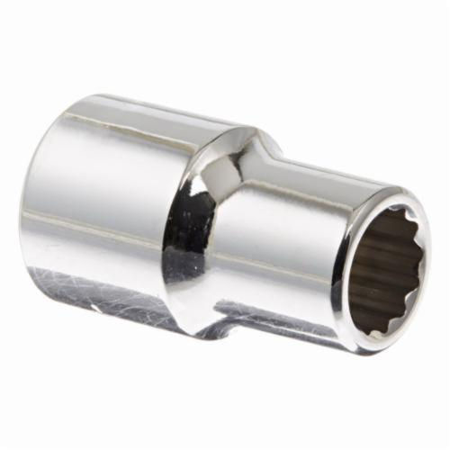 Stanley® 43011M Standard Length Socket, Metric, 1/2 in Square Drive, 11 mm