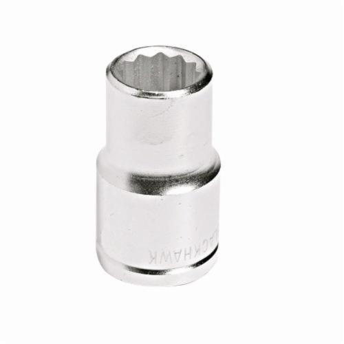 Stanley® 43017M Standard Length Socket, Metric, 1/2 in Square Drive, 17 mm