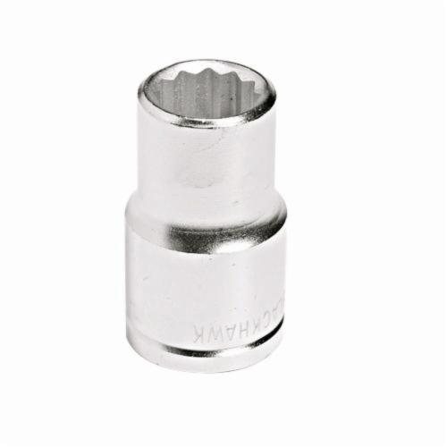 Stanley® 43024M Standard Length Socket, Metric, 1/2 in Square Drive, 24 mm