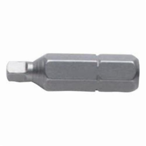 Stanley® 900-30 Single End Insert Bit, Imperial, #0 Square Head Point, 1 in L
