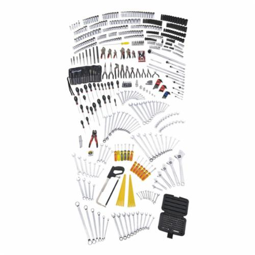 Blackhawk™ by Proto® 970760 Metric/SAE Deep/Standard Length Master Tool Set, 1/4 in, 3/8 in, 1/2 in, 3/4 in Drive, 760 Pieces
