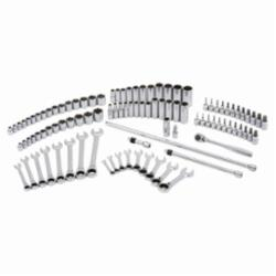 Blackhawk™ by Proto® 9748100 Deep/Standard Length Metric/SAE Combination Set, 3/8 in Drive, 100 Pieces