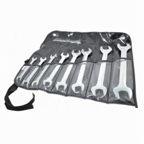 Stanley® BW-108PNB Open End Wrench Set, SAE, 8 Pieces, 1/4 x 5/16 to 15/16 x 1 in, Full Polished