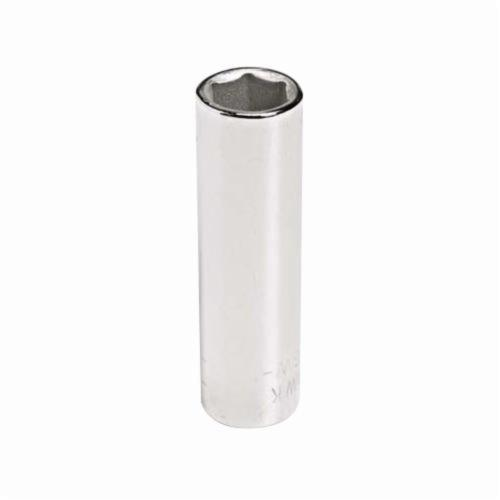 Stanley® GW-1511 Deep Length Socket, 1/4 in Square Drive, 11/32 in, 6 Points