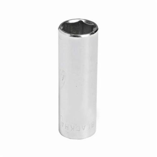 Stanley® GW-504M Deep Length Socket, 1/4 in Square Drive, 4 mm, 6 Points