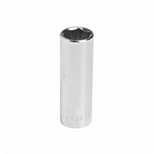 Stanley® GW-511M Deep Length Socket, Metric, 1/4 in Square Drive, 11 mm