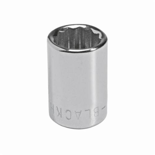 Stanley® GW-708M Standard Length Socket, Metric, 1/4 in Square Drive, 8 mm