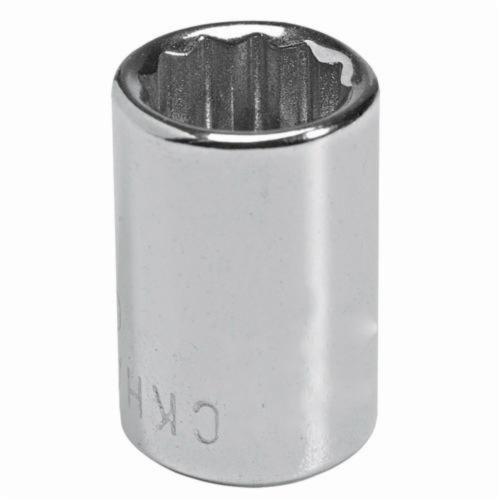 Stanley® GW-713M Standard Length Socket, Metric, 1/4 in Square Drive, 13 mm