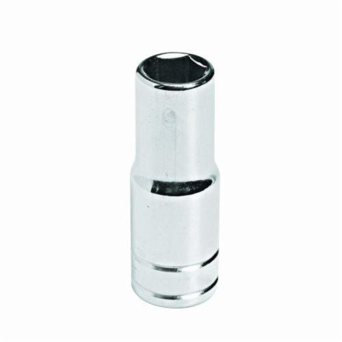 Stanley® HW-1507M Deep Length Socket, Metric, 3/8 in Square Drive, 7 mm