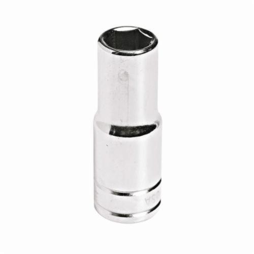 Stanley® HW-1522 Deep Length Socket, Imperial, 3/8 in Square Drive, 11/16 in