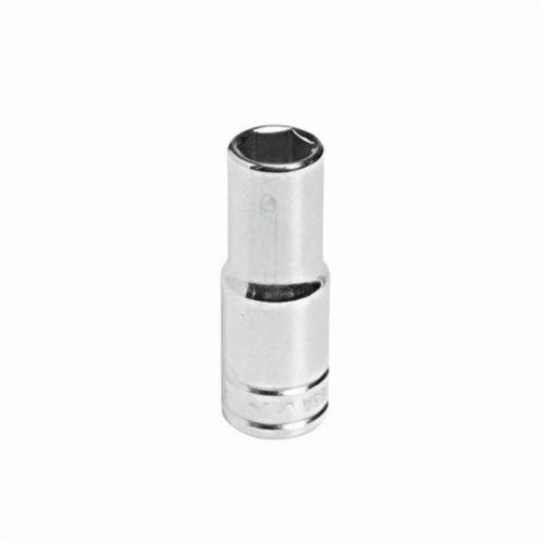 Stanley® HW-1524 Deep Length Socket, Imperial, 3/8 in Square Drive, 3/4 in