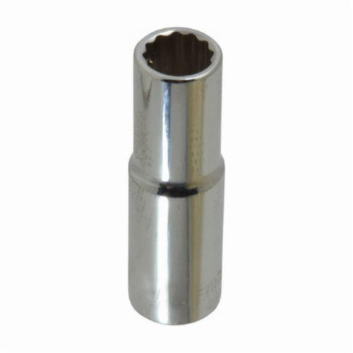 Stanley® HW-1610M Deep Length Socket, Metric, 3/8 in Square Drive, 10 mm