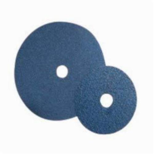 Norton® BlueFire® 66261138594 F826P Heavy Duty Coated Abrasive Disc, 7 in Dia, 7/8 in Center Hole, 24 Grit, Extra Coarse Grade, Zirconia Alumina Abrasive, Center Mount Attachment