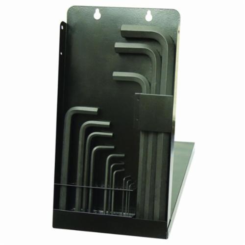 Bondhus® 10989 Long Key Set, 13 Pieces, 1.27 to 17 mm Hex, L-Handle Handle Handle, Protanium® High Torque Steel, ProGuard™