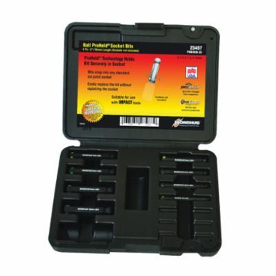 Bondhus® 23487 ProHold® Socket Bit Set, 8 Pieces, ProGuard™