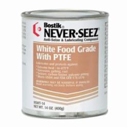 Bostik® NSWT-14 General Purpose Anti-Seize Lubricant With PTFE Anti-Seize, 14 oz Flat Top Can, White