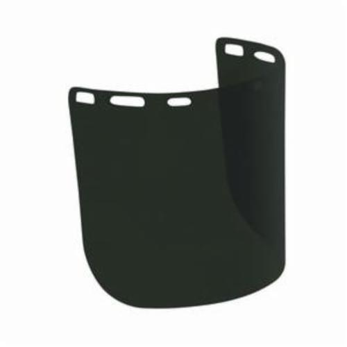 Bouton® Optical® 251-01-7315 Uncoated Safety Visor, Green IR Shade 5.5, Polycarbonate, 8 in H x 15 in W x 0.078 in THK Visor, For Use With Headgears, Specifications Met: ANSI Z87.1-2015