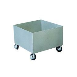 Bradley® S19-690A Four Wheel Cart, For Use With Model S19-690/S19-690LHS/S19-788 Eye/Face Wash Unit, Specifications Met: ANSI/ISEA Z358.1-2014