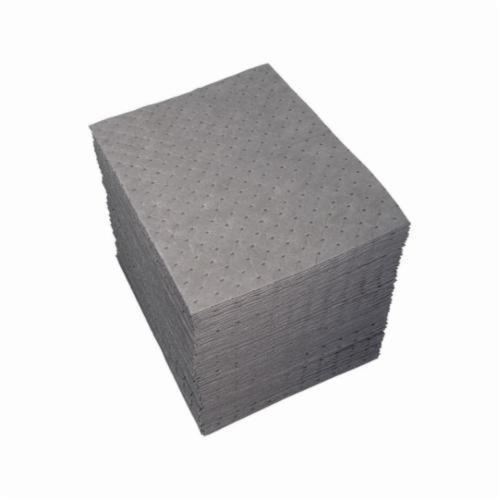 SPC® Xtra Tough UXT200 UXT-Xtra Tough Lightweight Perforated Absorbent Pad, 19 in L x 15 in W x 3-Ply THK, 31.5 gal Absorption Capacity, Spunbond-Meltblown-Spunbond Polypropylene