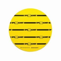 Brady® Spill Magnet™ 96229 Drain Cover, Vinyl, Black/Yellow