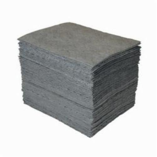 SPC® GP® MAXX® GP100-B Heavy Weight Perforated Absorbent Pad, 19 in L x 15 in W x 1-Ply THK, 28 gal Absorption Capacity, Meltblown Polypropylene