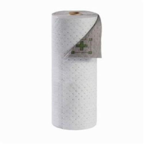 SPC® HT303 High Traffic Dimpled Surface Medium Weight Single Perforated Absorbent Roll, 300 ft L x 30 in W x 2-Ply THK, 63 gal Absorption Capacity, Polypropylene