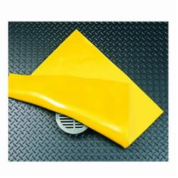 SPC® PVC24 SLIKSTOPPER® Magnetic Tear-Resistant Drain Seal, PVC, Yellow