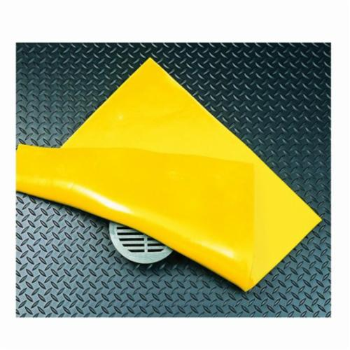 SPC® PVC24 SLIKSTOPPER® Magnetic Tear-Resistant Drain Seal, PVC, Yellow