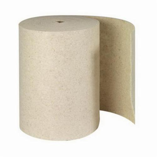 SPC® Re-Form® RFOP28DP Double Perforated Heavyweight Absorbent Roll, 150 ft L x 28-1/2 in W, 71 gal/bale Absorption, 80% Natural Cotton Fiber