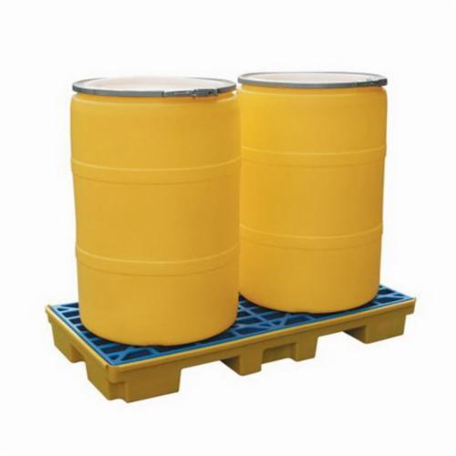 SPC® SC-SD2 Spill Deck, 2 Drums, 21.2 gal Spill, 2500 lb Load, HDPE
