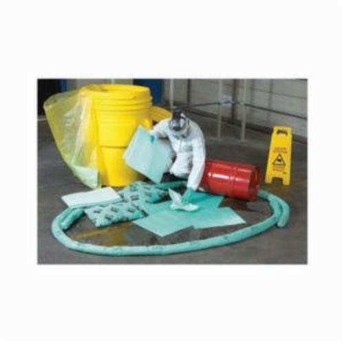 SPC® HAZWIK® SKH-BKT Portable Spill Kit, 6.5 gal Bucket, Fluids Absorbed: Chemical/Hazmat