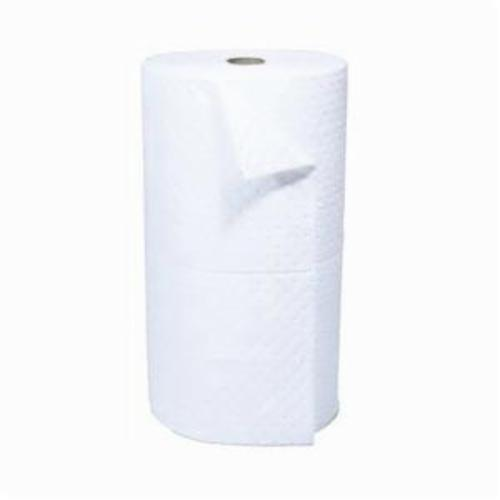 SPC® SXT30DP 3-Ply Dimpled Surface Heavyweight Perforated Absorbent Roll, 150 ft L x 30 in W, 37 gal Absorption, Polypropylene