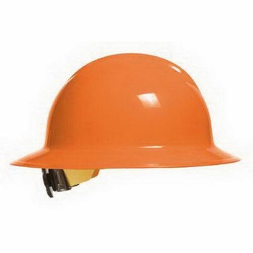 Bullard® 33HOR Classic C33 Full Brim Hard Hat, SZ 6-1/2 Fits Mini Hat, SZ 8 Fits Max Hat, HDPE, 6-Point Flex-Gear® Suspension, ANSI Electrical Class Rating: Class E and G, ANSI Impact Rating: Type I, Ratchet Adjustment