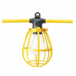 Southwire® 7548SW Temporary String Light, A23, 1875 W Fixture, 125 VAC, 1 Lamp