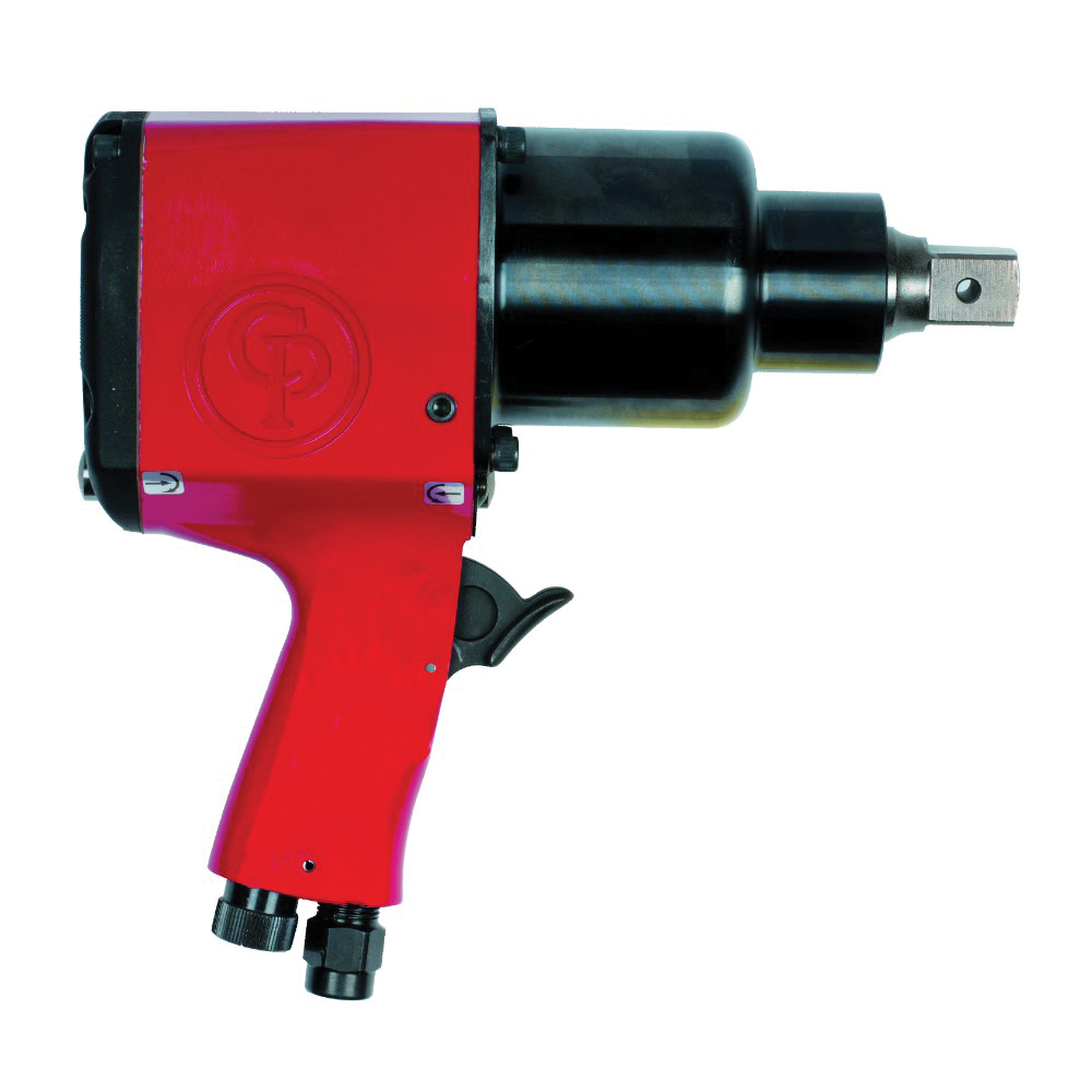 CP 6151909561 Impact Wrench, 3/4 in Drive, 200 to 950 N-m Forward/ 1250 N-m Reverse Torque, 30 cfm Air Flow, 8-1/2 in OAL